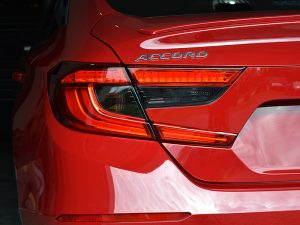 2018 - 2019 Honda Accord Tail Light Tint Overlay Dark Smoke 20%