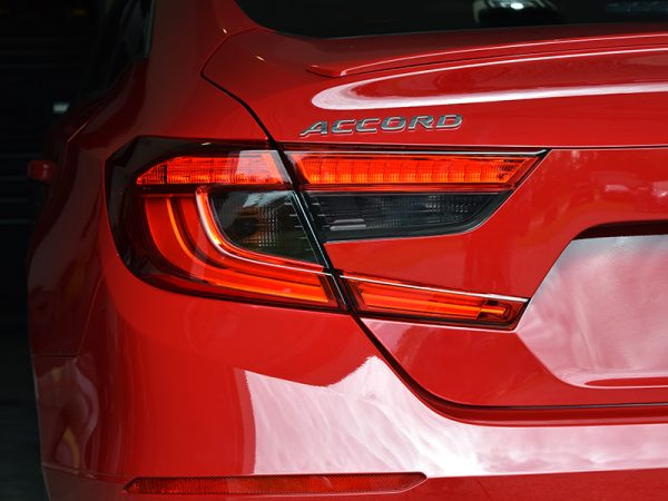 2018 - 2019 Honda Accord Tail Light Tint Overlay Dark Smoke 20%
