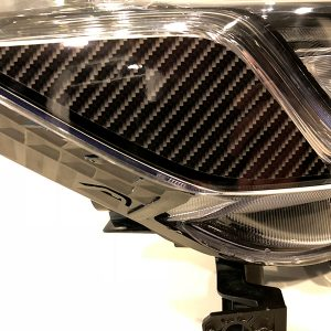 Honda Accord Headlight Carbon Fiber