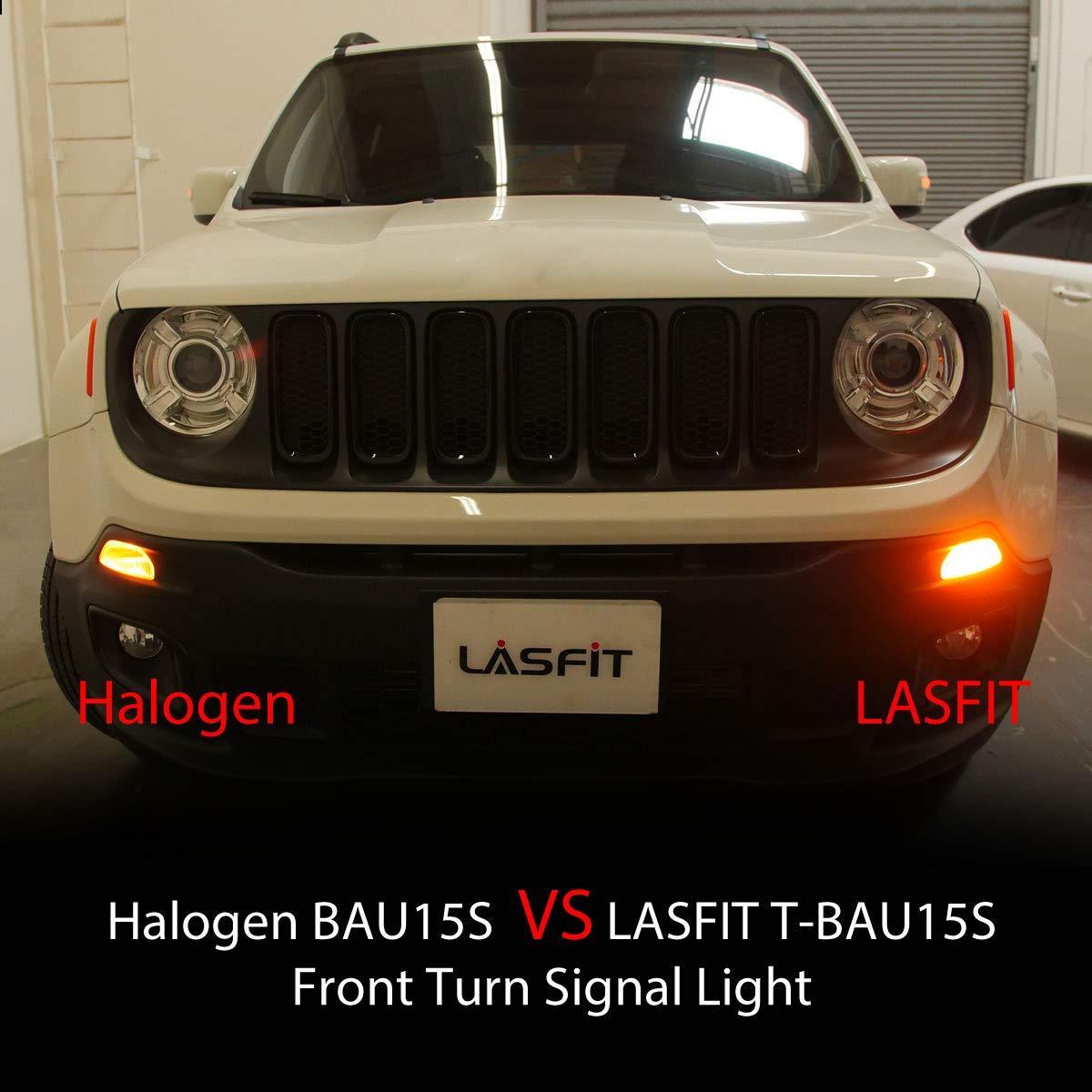 Lasfit Turn Signal LED Amber No Hyperblink Pair 7507