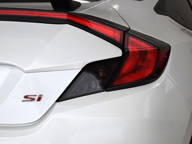 Dark Smoke Tail Light Overlay 2016 2020 Honda Civic