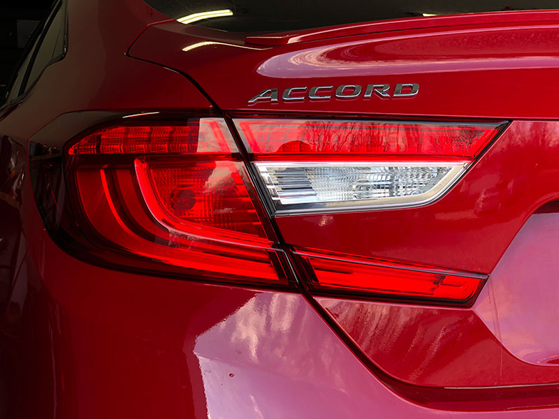 Crux Motorsports 2018 2019 Accord Tail Light Tint Overlays Turn Signal Only Crux Motorsports