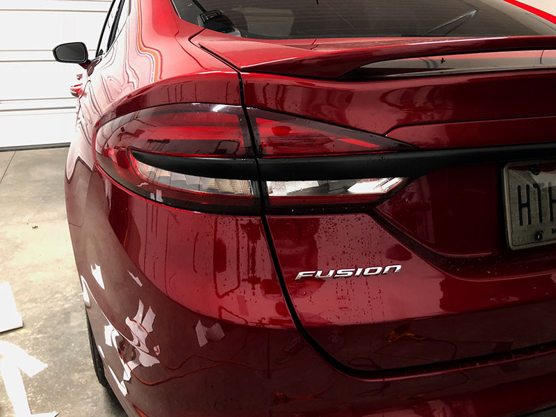 2017 2018 2019 2020 2021 Ford Fusion Tail Light Tint