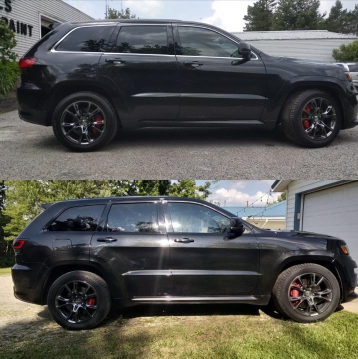 Black Grand Cherokee >> Crux Motorsports Window Chrome Delete Black Out For 2011 2019 Jeep Grand Cherokee